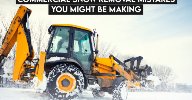 Snow Removal Mistakes